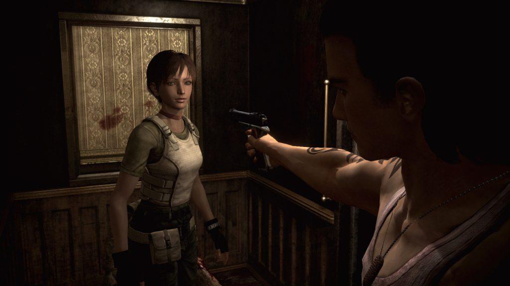 Första mötet mellan Rebecca och Billy.