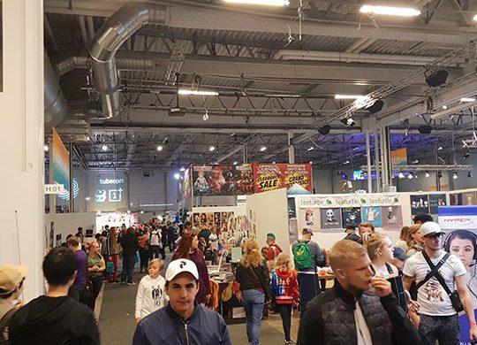 Intryck från Comic Con Stockholm 2018