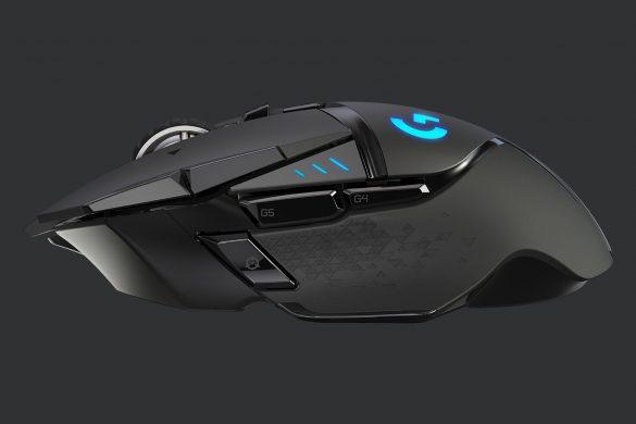 Logitech G502 LIGHTSPEED Trådlös gamingmus