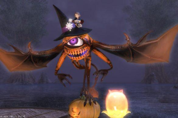 All Saints' Wake Event   Final Fantasy XIV bjuder in till kusligt onlinespelande!