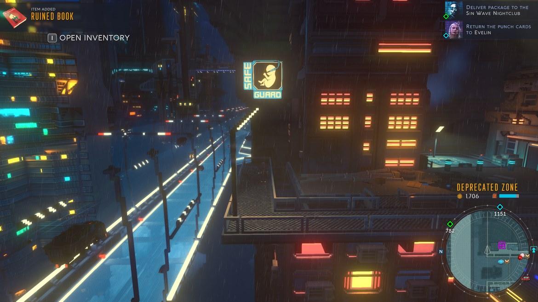 Dystopiskt neon